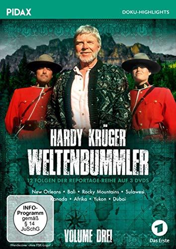 Hardy Krüger - Weltenbummler, Vol. 3 (3 DVDs)