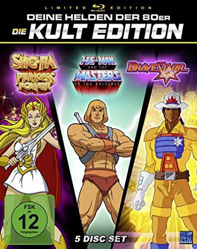 He-Man + She-Ra + BraveStarr - Gesamtedition [Blu-ray]
