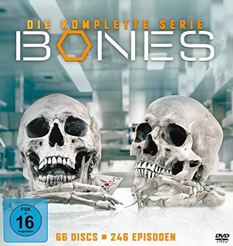 Bones Komplettbox (66 DVDs)