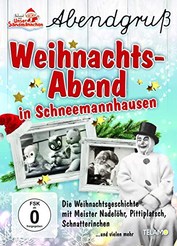 Unser Sandmännchen Abendgruß: Weihnachts-Abend in Schneemannhausen