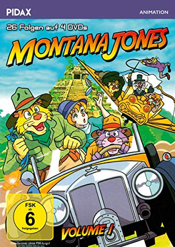 Montana Jones, Vol. 1 (4 DVDs)