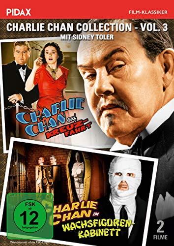 Charlie Chan Collection, Vol. 3: Charlie Chan auf Kreuzfahrt + im Wachsfigurenkabinett