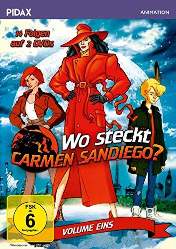 Wo steckt Carmen Sandiego?, Vol. 1 (2 DVDs)