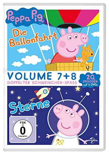 Peppa Pig: Die Ballonfahrt & Sterne (2 DVDs)