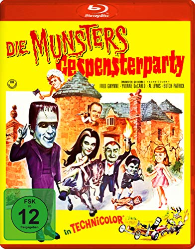 Die Munsters: Gespensterparty [Blu-ray]