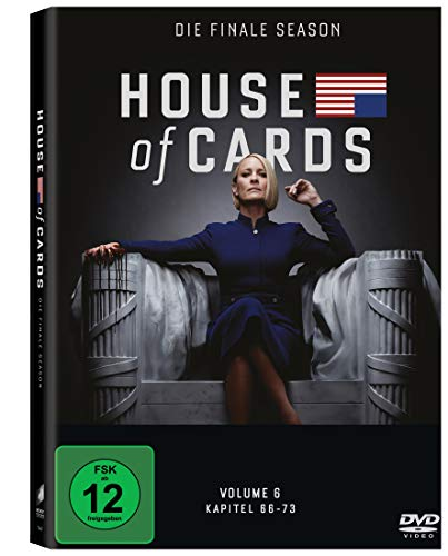 House of Cards Staffel 6 (3 DVDs)