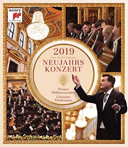 Neujahrskonzert 2019 - Christian Thielemann, Wiener Philharmoniker [Blu-ray]