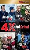 Landkrimi - Set 4: Steirerkind / Der Tote im See / Grenzland / Achterbahn (4 DVDs)