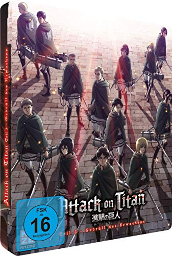 Attack on Titan Teil 3: Gebrüll des Erwachens (Limited Edition Steelcase) [Blu-ray]