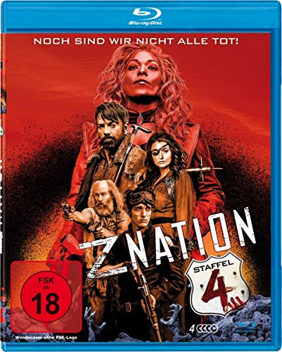 Z Nation Staffel 4 (Uncut Edition) [Blu-ray]