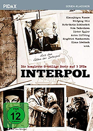 Interpol Die komplette Serie (3 DVDs)