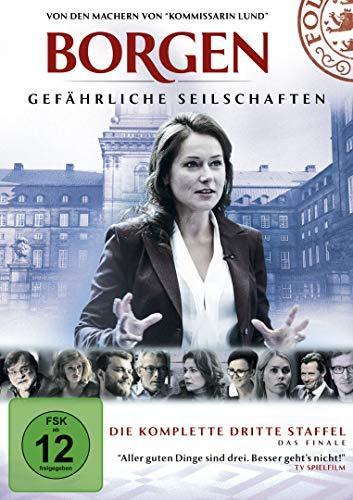 Borgen  /  Gefährliche Seilschaften Staffel 3 (4 DVDs)