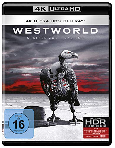 Westworld Staffel 2 (Repack) [4K Ultra HD + Blu-ray]