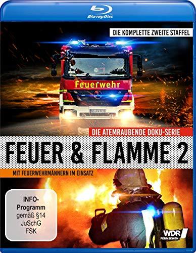 Feuer & Flamme - Mit Feuerwehrmännern im Einsatz: Staffel 2 [Blu-ray]