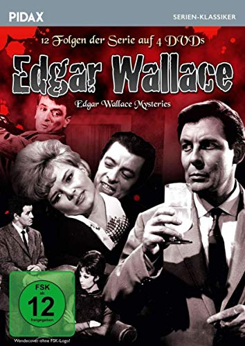 Edgar Wallace (The Edgar Wallace Mysteries) (4 DVDs) The Edgar Wallace Mysteries (4 DVDs)