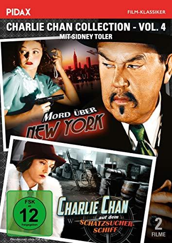 Charlie Chan Collection, Vol. 4: Mord über New York + auf dem Schatzsucherschiff