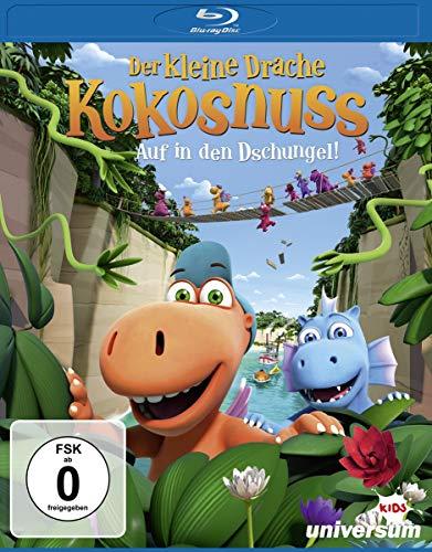 Der kleine Drache Kokosnuss Auf in den Dschungel! [Blu-ray]