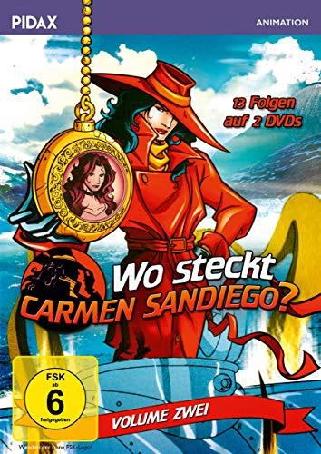 Wo steckt Carmen Sandiego?, Vol. 2 (2 DVDs)