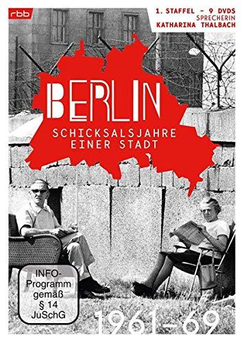 Berlin - Schicksalsjahre einer Stadt: Staffel 1 (1961-1969) (9 DVDs)