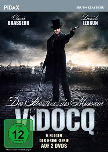 Die Abenteuer des Monsieur Vidocq 2 DVDs