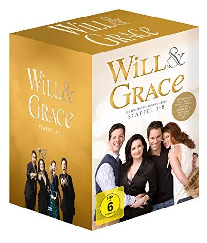 Will & Grace Die komplette Serie (Neuauflage) (exklusiv bei Amazon.de) (32 DVDs + Bonus-DVD)