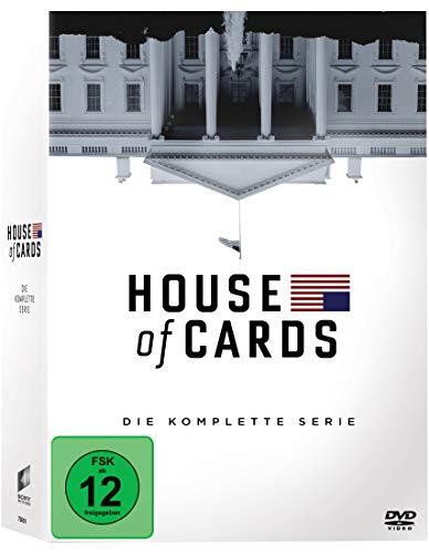 House of Cards Die komplette Serie (23 DVDs)