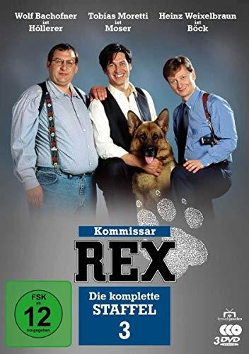 Kommissar Rex Staffel 3 (3 DVDs)