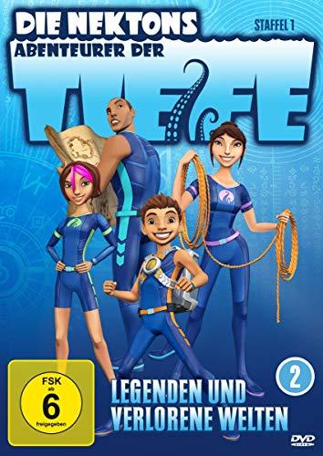 Die Nektons - Abenteurer der Tiefe, DVD 2: Legenden und verlorene Welten