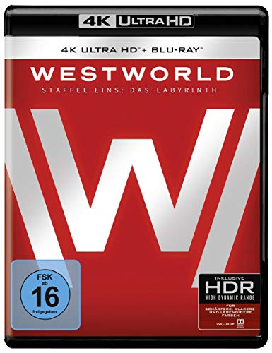 Westworld Staffel 1 [4K Ultra HD Blu-ray + 2D Blu-ray]