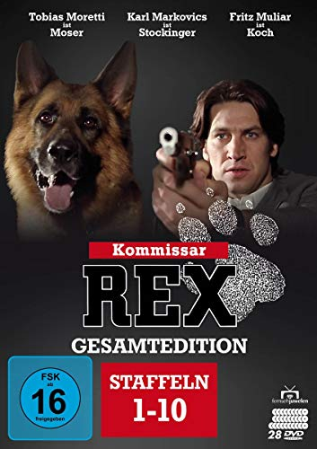 Kommissar Rex Gesamtedition (Staffel 1-10 + Bonus-Disc) (28 DVDs)