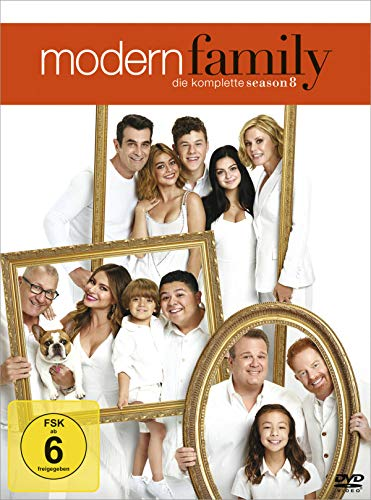 Modern Family Staffel 8 (3 DVDs)
