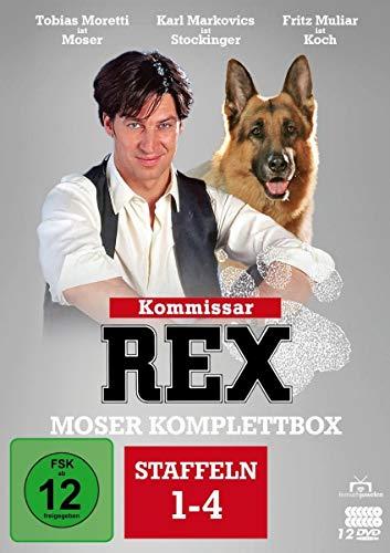 Kommissar Rex Moser Komplettbox (Staffel 1-4) (12 DVDs)