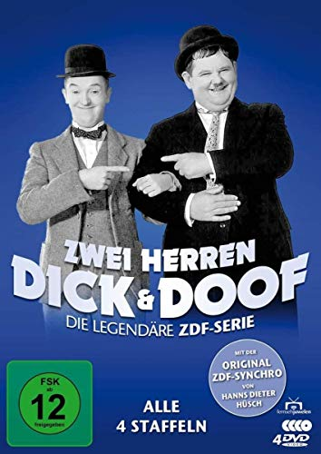 Zwei Herren Dick und Doof Die Original ZDF-Serie (4 DVDs)