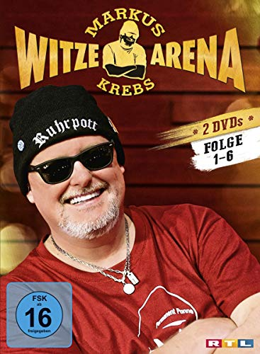 Markus Krebs - Witzearena 2 DVDs