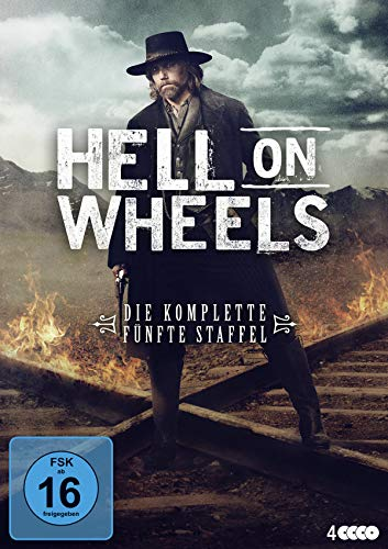 Hell on Wheels Staffel 5 (4 DVDs)