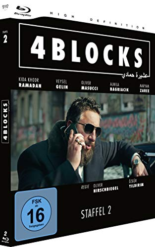 4 Blocks Staffel 2 (FSK 16) [Blu-ray]
