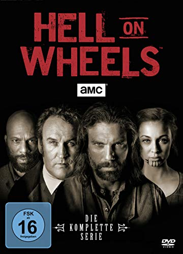 Hell on Wheels Staffel 1-5 (13 DVDs)