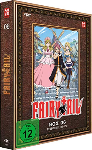 Fairy Tail TV-Serie: Box 6 (Episoden 125-150) (4 DVDs)