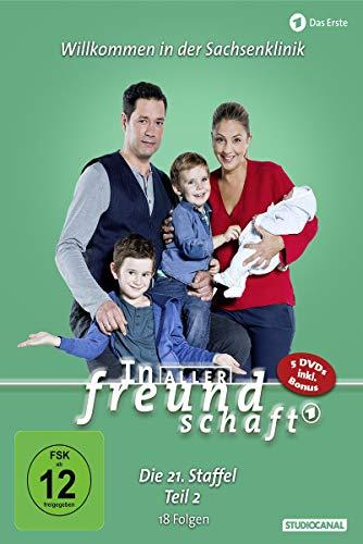 In aller Freundschaft Staffel 21, Teil 2 (5 DVDs)