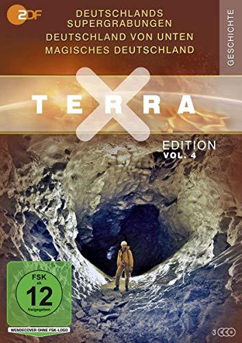 Terra X Edition, Vol. 4: Deutschlands Supergrabungen / Deutschland von unten / Magisches Deutschland (3 DVDs)