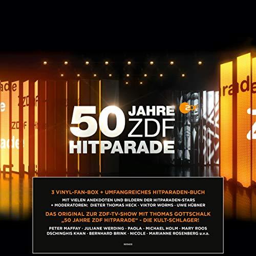 50 Jahre ZDF Hitparade - Das Original (Premium Version) (3 Vinyl LPs)