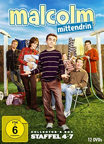 Malcolm mittendrin Staffel 4-7 (Collector's Box) (12 DVDs)
