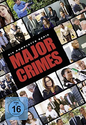 Major Crimes Die komplette Serie (24 DVDs)