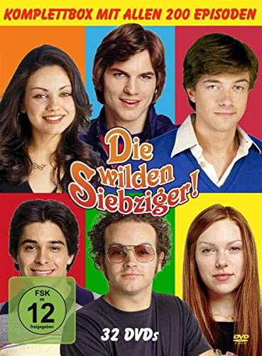 Die wilden Siebziger! Die komplette Serie (Monstercase) (32 DVDs)