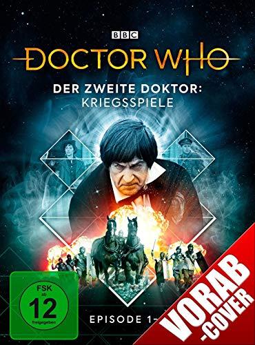Doctor Who -  Der zweite Doktor: Kriegsspiele (Episode 1-4) (Limitierte Digipack-Edition mit Sammelschuber)