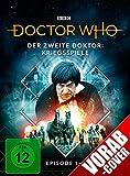 Der zweite Doktor: Kriegsspiele (Episode 1-4) (Limitierte Digipack-Edition mit Sammelschuber)