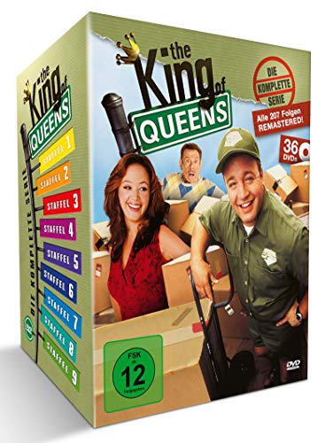 The King of Queens Die komplette Serie (Queens Box) (exklusiv bei Amazon) (36 DVDs)