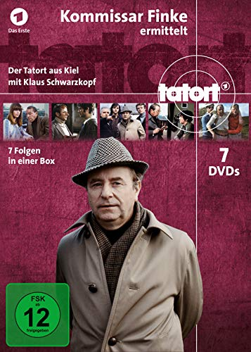 Tatort Kommissar Finke ermittelt in Kiel (Komplettbox) (7 DVDs)
