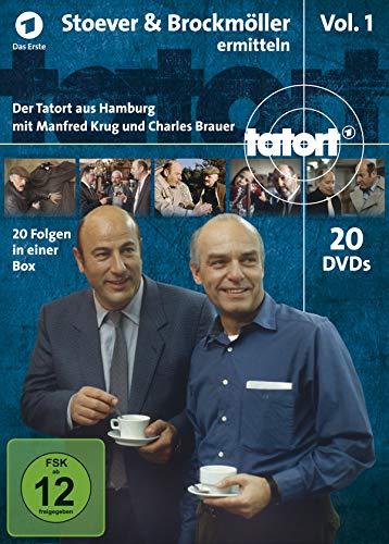 Tatort Stoever & Brockmöller ermitteln - Box 1 (20 DVDs)