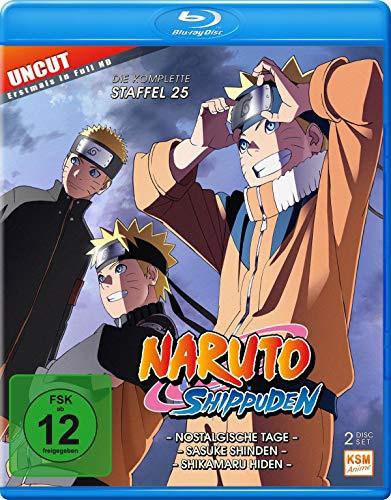 Naruto Shippuden Staffel 25 [Blu-ray]